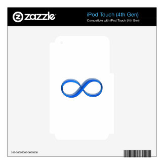 Infinity Symbol iPod Touch 4G Skin