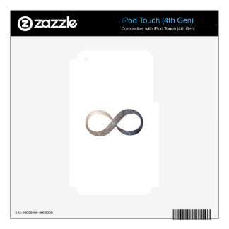 Infinity Symbol iPod Touch 4G Skins