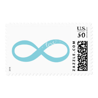 Infinity Symbol Love Wedding Stamp