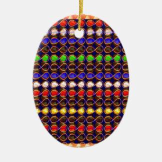 INFINITY Symbol n Gold Sparkle Jewel ART GraphicS Ornaments