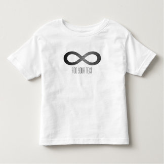 Infinity Symbol On Faux Metal Texture by STaylor Toddler T-shirt