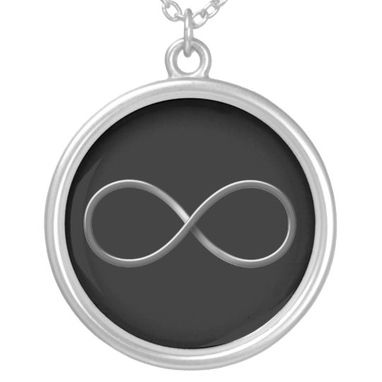 Infinity Symbol | Science Rules Silver Plated Necklace