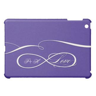 Infinity Symbol Sign Infinite Love Personalized iPad Mini Covers