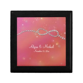 Infinity Symbol Sign Infinite Love Twinkling Light Jewelry Box