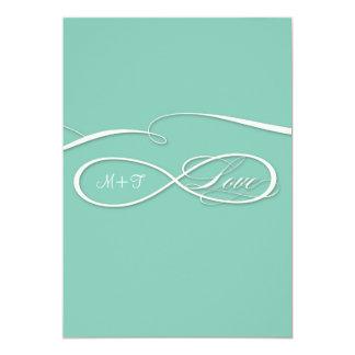 Infinity Symbol Sign Infinite Love Wedding Set Card