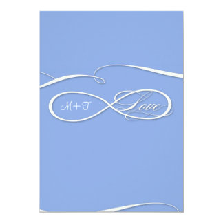 Infinity Symbol Sign Infinite Love Wedding Set Personalized Invitation