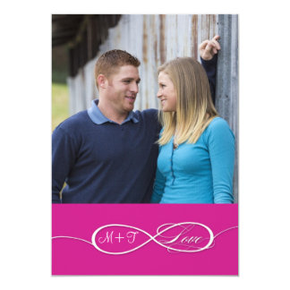 Infinity Symbol Sign Infinite Love Wedding Set Personalized Invite