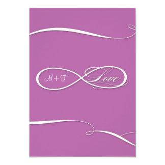 Infinity Symbol Sign Infinite Love Weddings Scroll Card