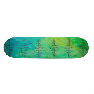 Infinity Tree Skateboard By Megaflora