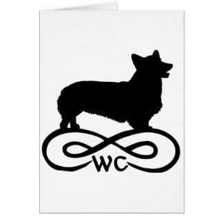 Infinity Welsh Corgi Card