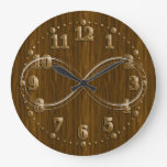 Infinity Wooden Decorative Wall Clock