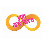 Infinity You Are Here Post Card