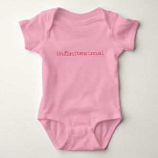 infintesimally tiny baby romper - pink