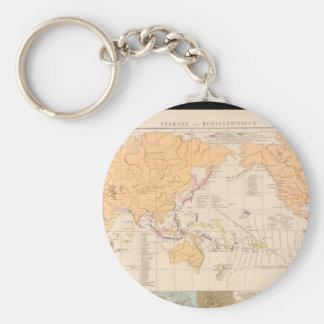 Infirm World Map 27 Keychain