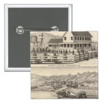 Infirmary, residences pinback button