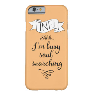 INFJ and Introspection Barely There iPhone 6 Case