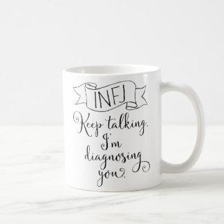 INFJ the Counselor Coffee Mug