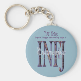 INFJ theCounselor Keychain