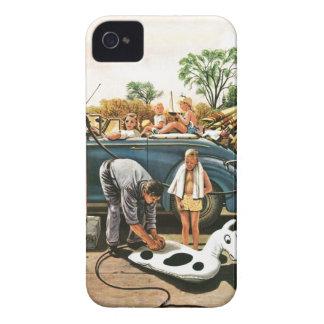 Inflación del juguete de la playa carcasa para iPhone 4