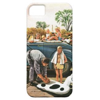 Inflación del juguete de la playa funda para iPhone SE/5/5s