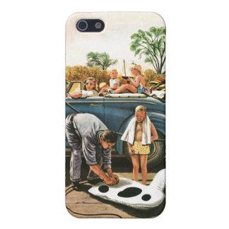 Inflación del juguete de la playa iPhone 5 funda