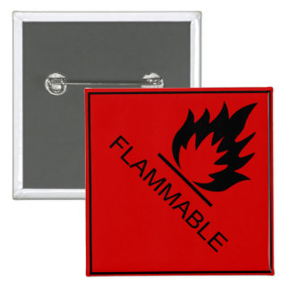 Inflamable Pin