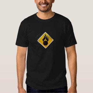 Inflammable - Black Tshirt