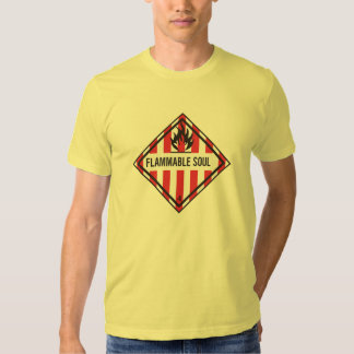 Inflammable soul tshirts