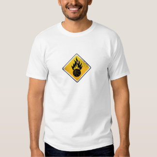 Inflammable Tee Shirts
