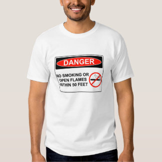 Inflammable Tshirts