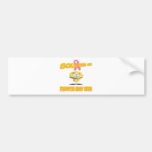 Inflammatory Breast Cancer Bumper Sticker