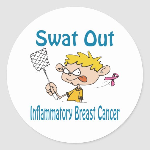Inflammatory-Breast-Cancer Classic Round Sticker