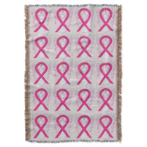 Inflammatory Breast Cancer Ribbon Angel Blanket