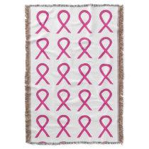Inflammatory Breast Cancer Ribbon Soft Blankets