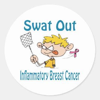 Inflammatory-Breast-Cancer Classic Round Sticker
