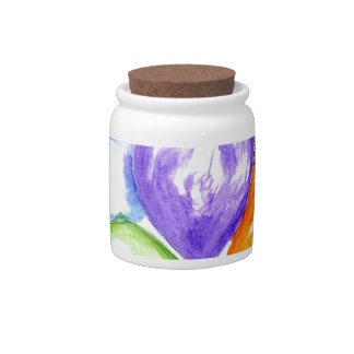 Inflatable Colorful Balloons Candy Jar