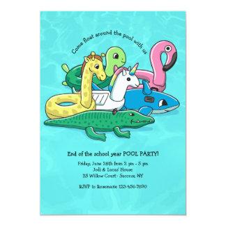 Inflatable Pool Toys Invitation