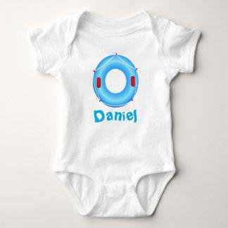 Inflatable Swim Ring Infant Creeper