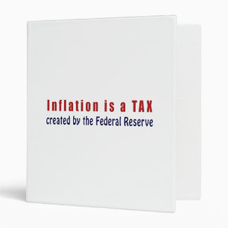 Inflation is a TAX Created by the Federal Reserve Binder