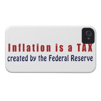 Inflation is a TAX Created by the Federal Reserve Case-Mate iPhone 4 Case