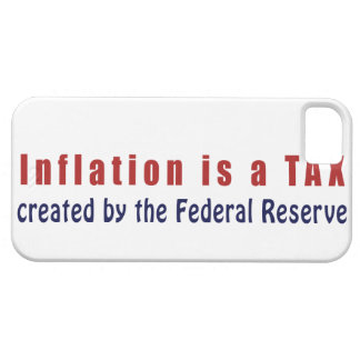Inflation is a TAX Created by the Federal Reserve iPhone SE/5/5s Case