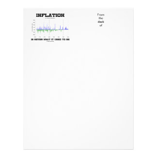 Inflation Is Never What It Used To Be Economics Letterhead