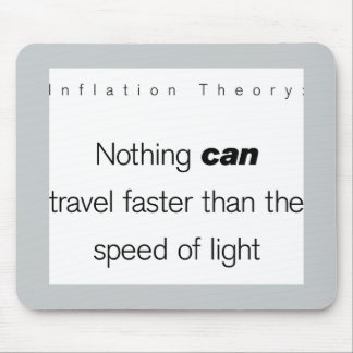 Inflation Theory Mouse Pad
