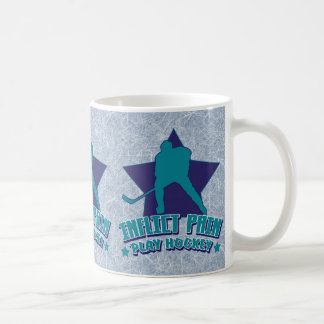 Inflict Pain Play Hockey Coffee Mug Tea Cup