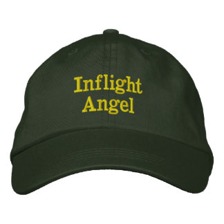 Inflight Angel Embroidered Hats