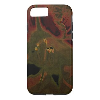 Inflorescence of Allium aflatunense on iPhone 8/7 Case