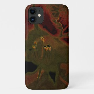 Inflorescence of Allium aflatunense on iPhone 11 Case