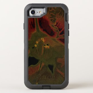 Inflorescence of Allium aflatunense on OtterBox Defender iPhone 8/7 Case