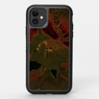 Inflorescence of Allium aflatunense on OtterBox Symmetry iPhone 11 Case