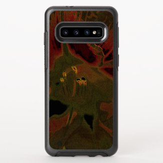 Inflorescence of Allium aflatunense on OtterBox Symmetry Samsung Galaxy S10 Case
